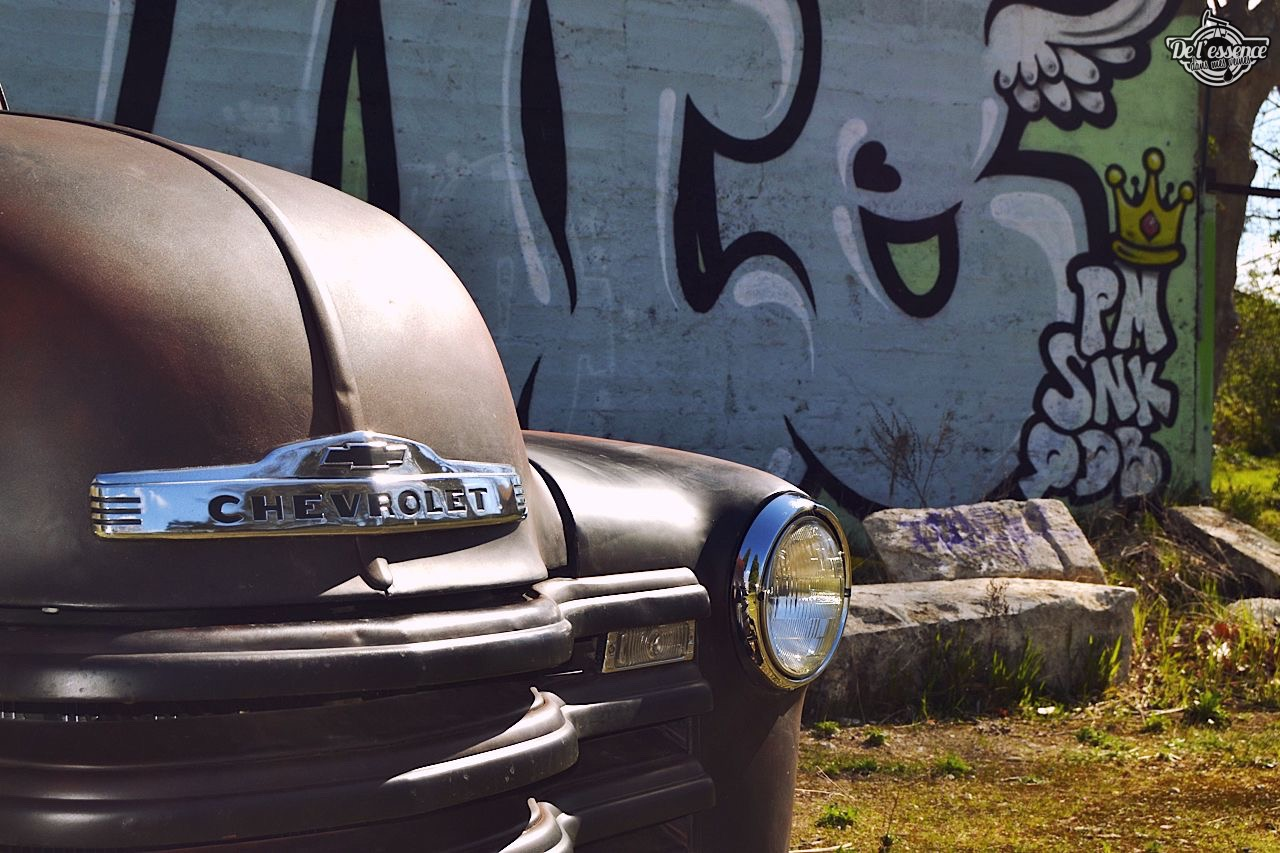 Slammed '51 Chevy 3100 - Born in the USA ! 68