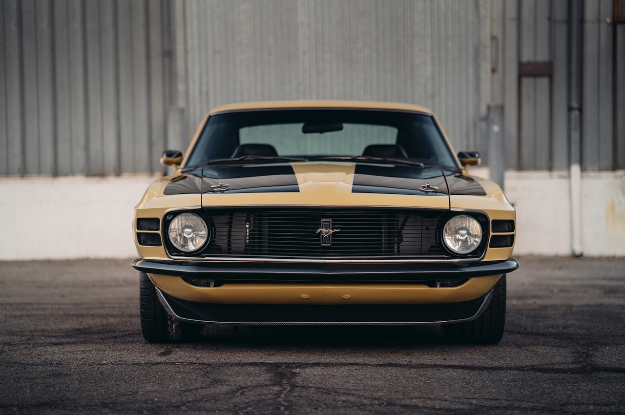 '70 Ford Mustang Boss 302 - La Stang d'Iron Man ! 31