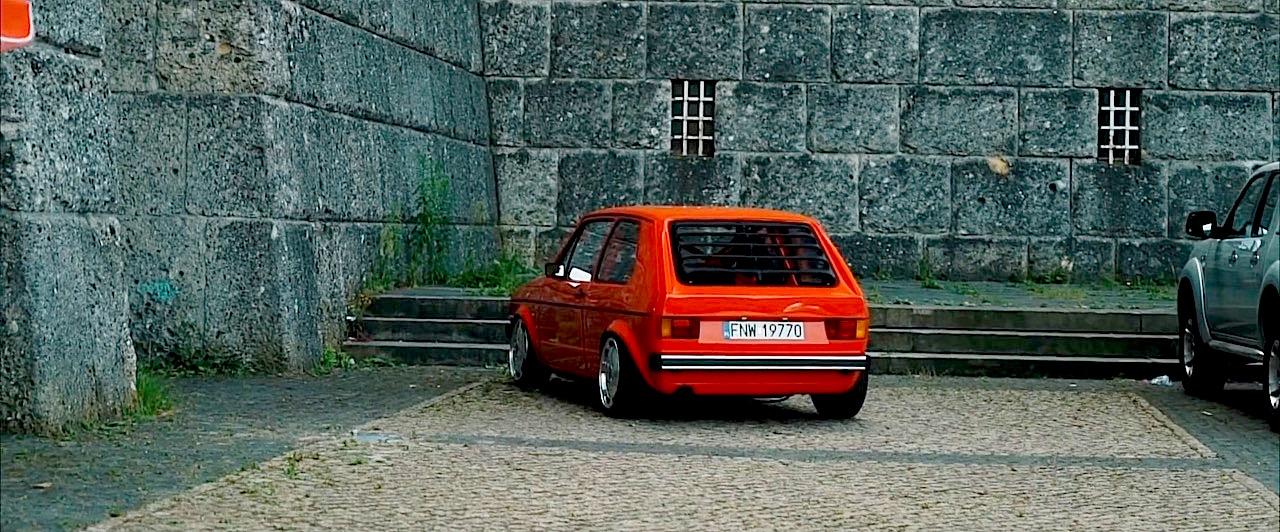 VW Golf 1 1.8l - Quand la sobriété cache la bestialité ! 9