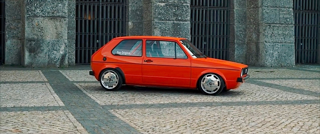 VW Golf 1 1.8l - Quand la sobriété cache la bestialité ! 5