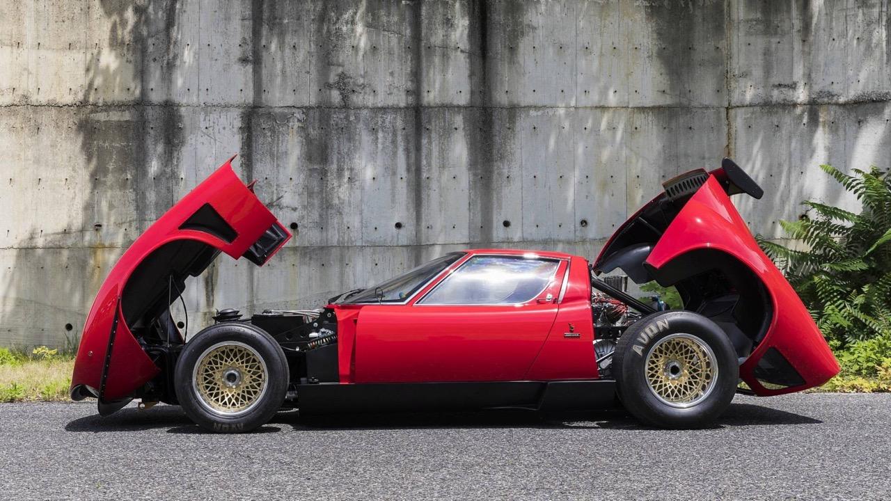 Lamborghini Miura SVR... Unique ! 4