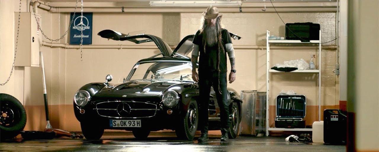Magnus Walker en Mercedes 300 SL... C'est Porsche qui va être jaloux ! 1