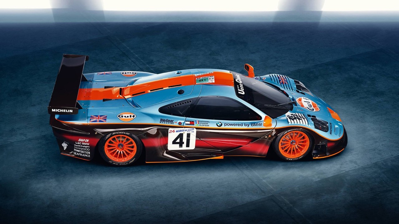 McLaren 675LT Gulf... Les couleurs font-elles la voiture ? Ou est-ce l'inverse ? 6