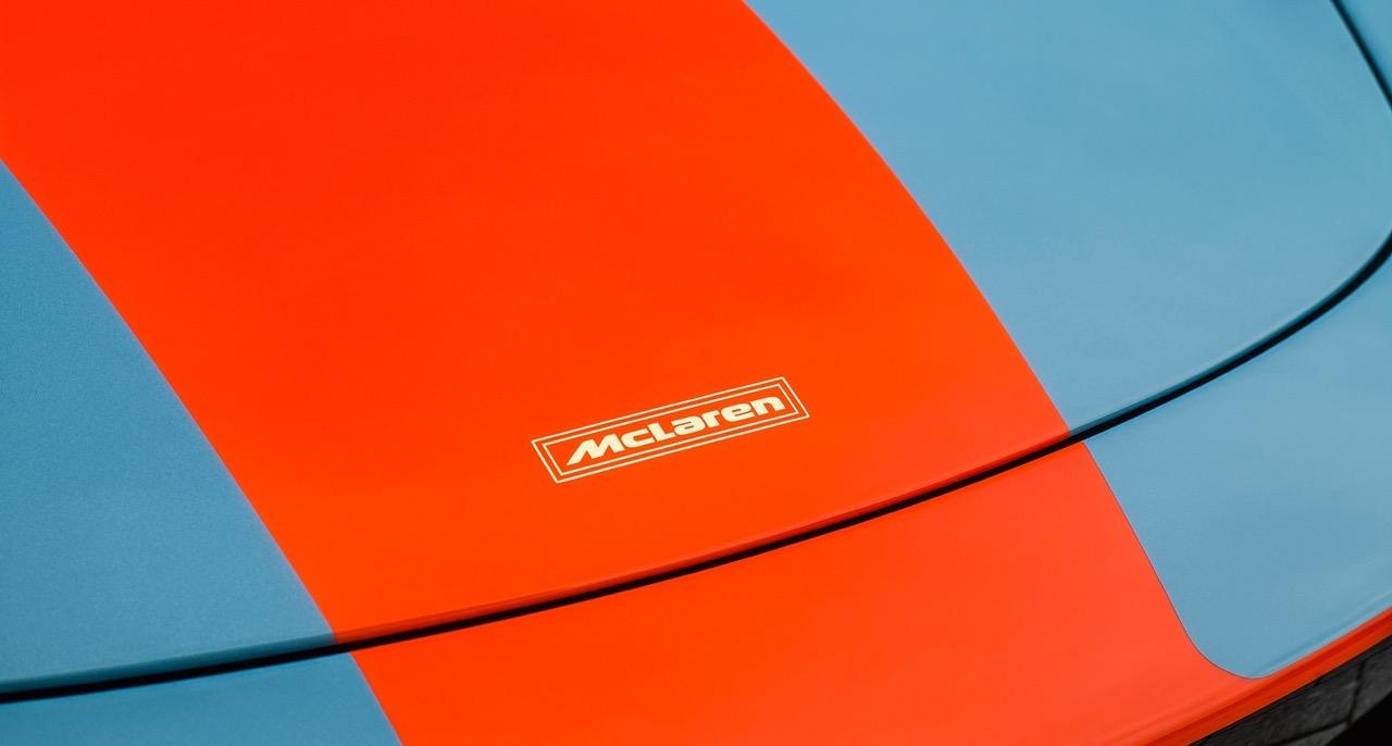 McLaren 675LT Gulf... Les couleurs font-elles la voiture ? Ou est-ce l'inverse ? 3