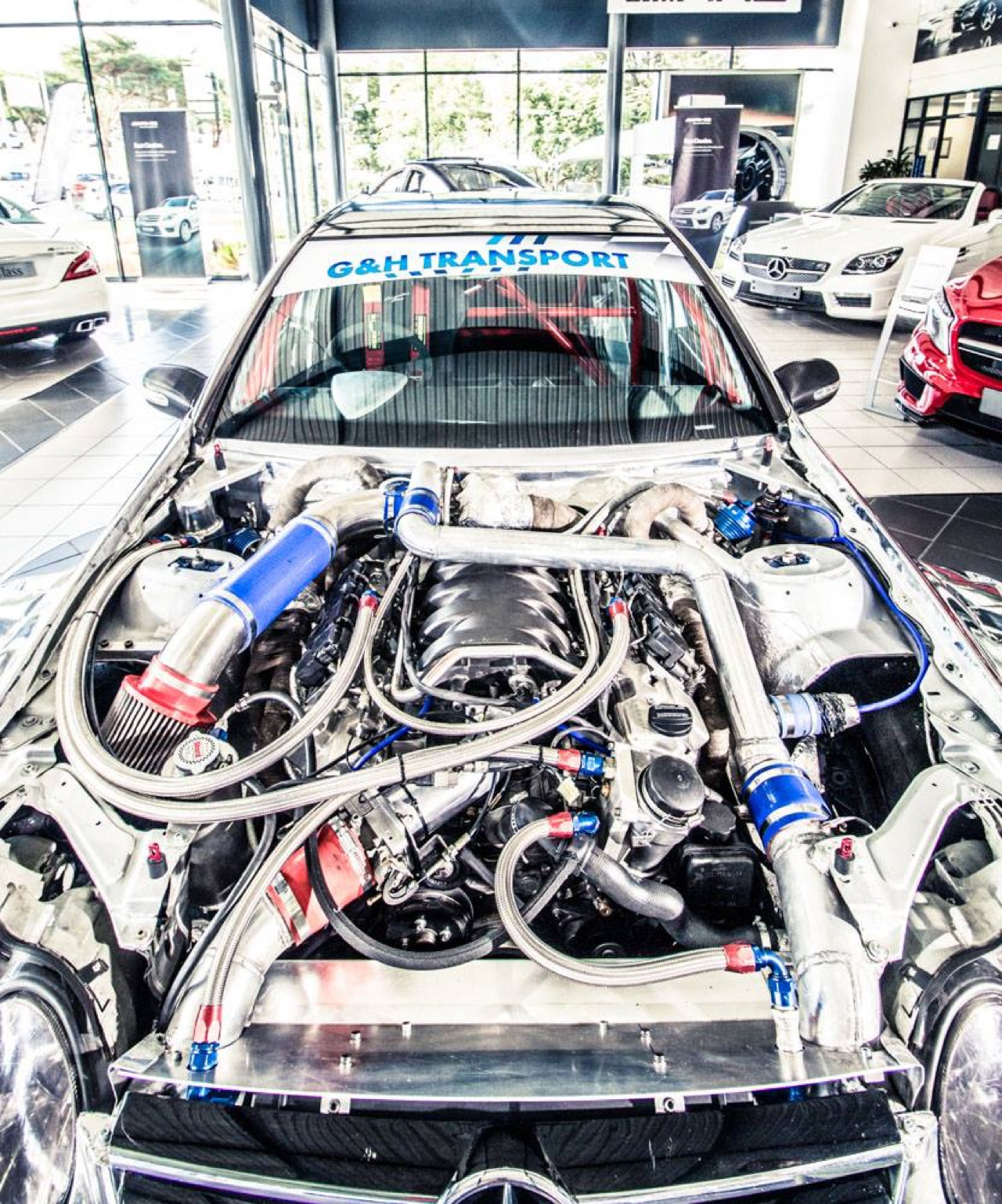 Hillclimb Monster : Mercedes C 55 AMG DTM Turbo - Springbox ! 23