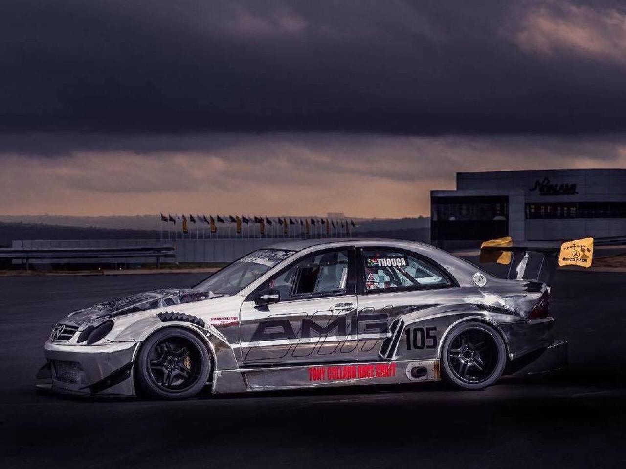 Hillclimb Monster : Mercedes C 55 AMG DTM Turbo - Springbox ! 2