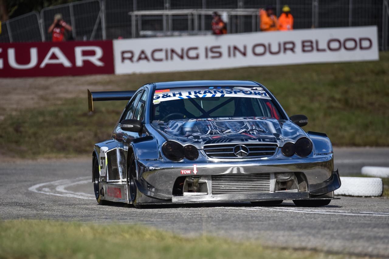Hillclimb Monster : Mercedes C 55 AMG DTM Turbo - Springbox ! 22