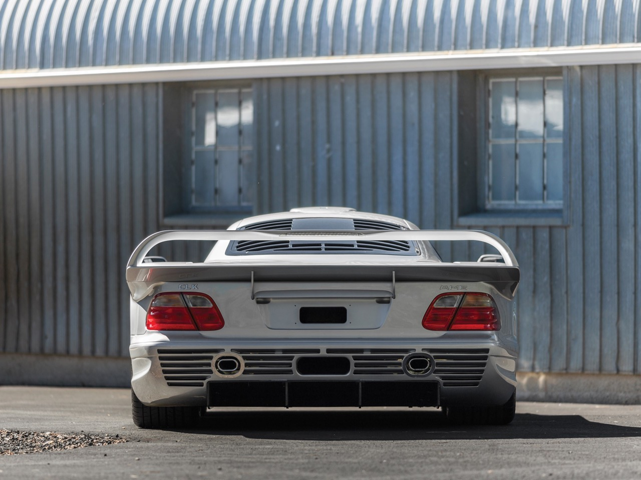 Mercedes CLK GTR... Street Legal Ultime ! 91