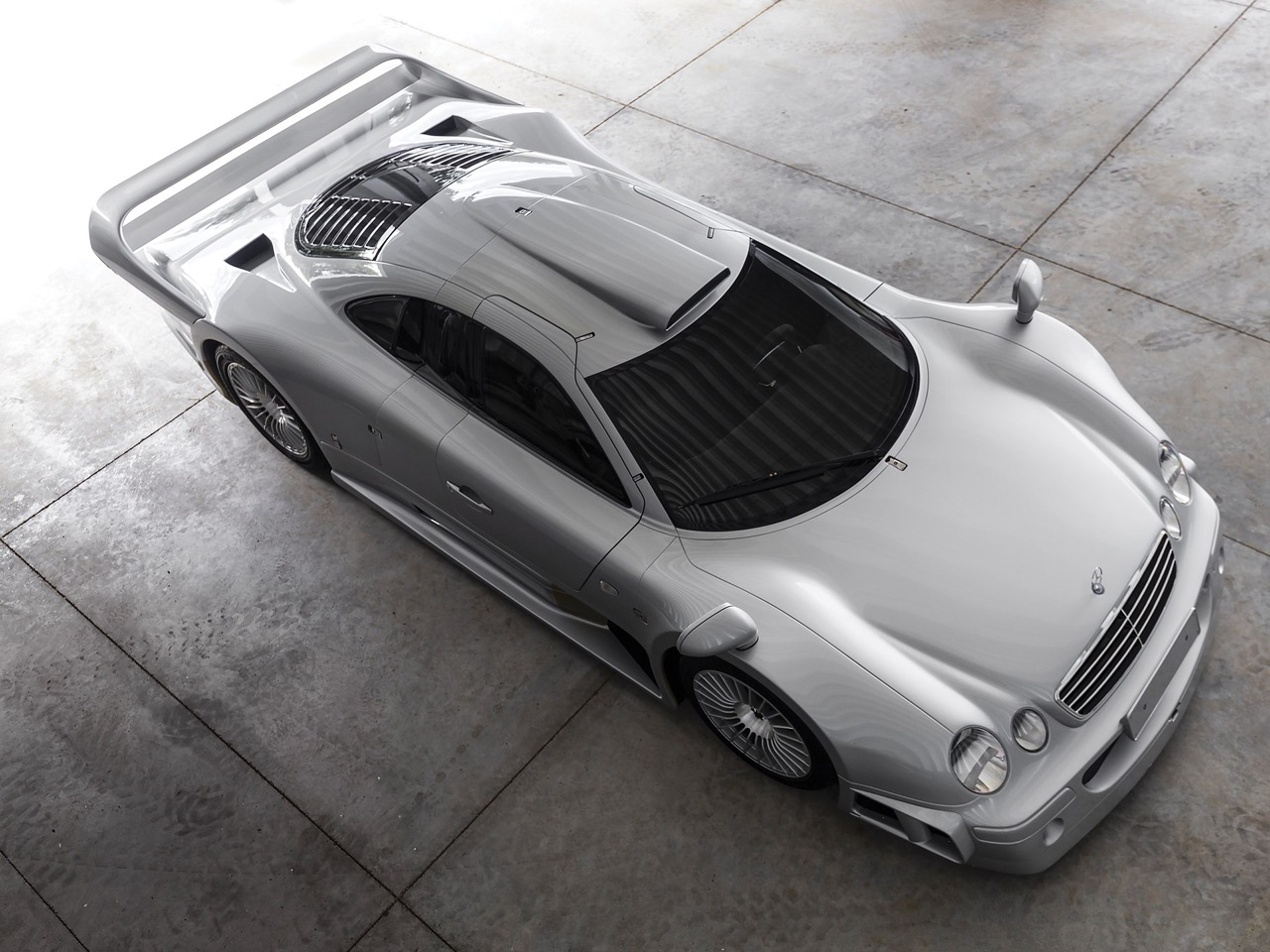 Mercedes CLK GTR... Street Legal Ultime ! 100