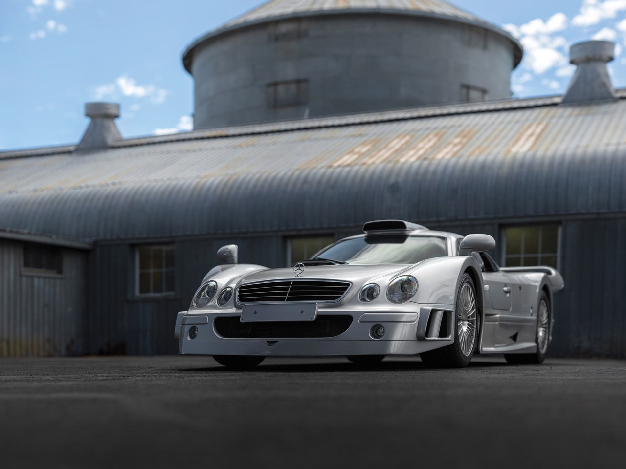 Mercedes CLK GTR... Street Legal Ultime ! 19