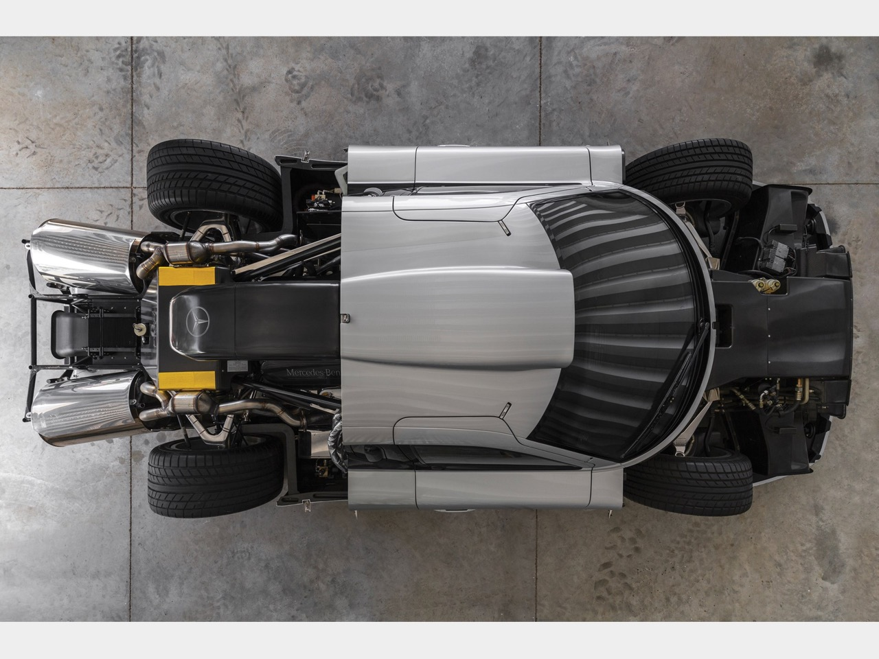 Mercedes CLK GTR... Street Legal Ultime ! 78