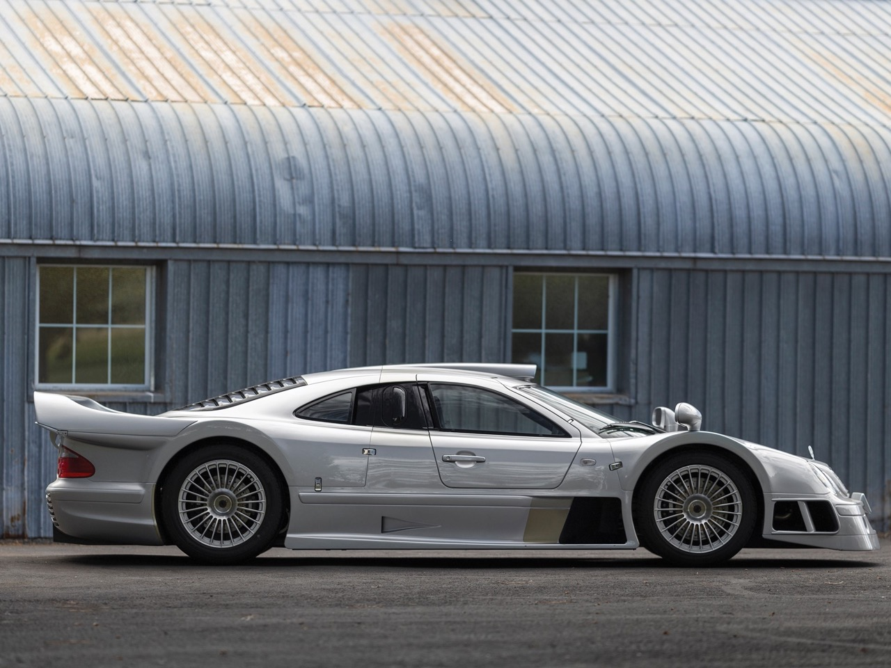 Mercedes CLK GTR... Street Legal Ultime ! 2