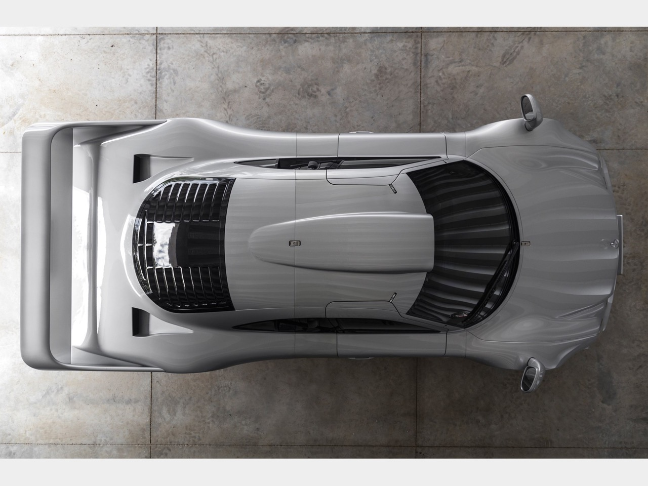 Mercedes CLK GTR... Street Legal Ultime ! 63
