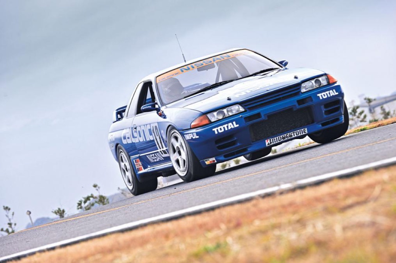 Nissan Skyline R32 GTR Calsonic...  Godzilla attack ! 5