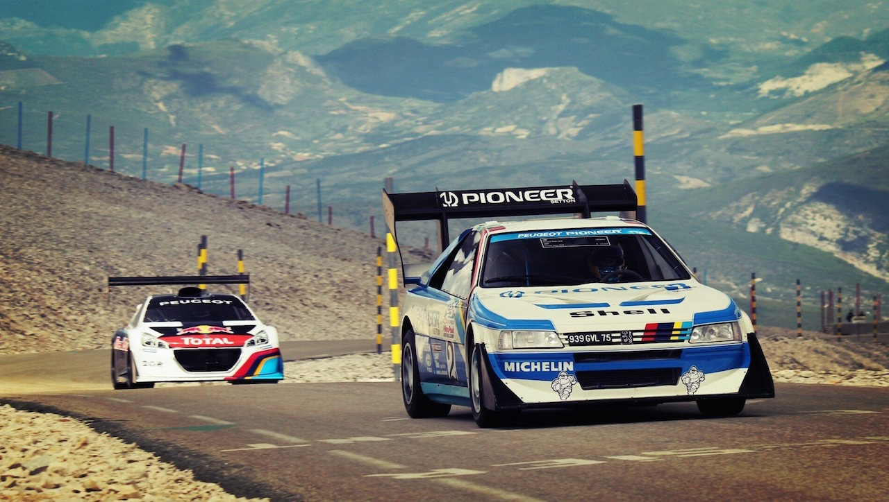 Peugeot 405 T16 Pikes Peak - Show à Goodwood... 5