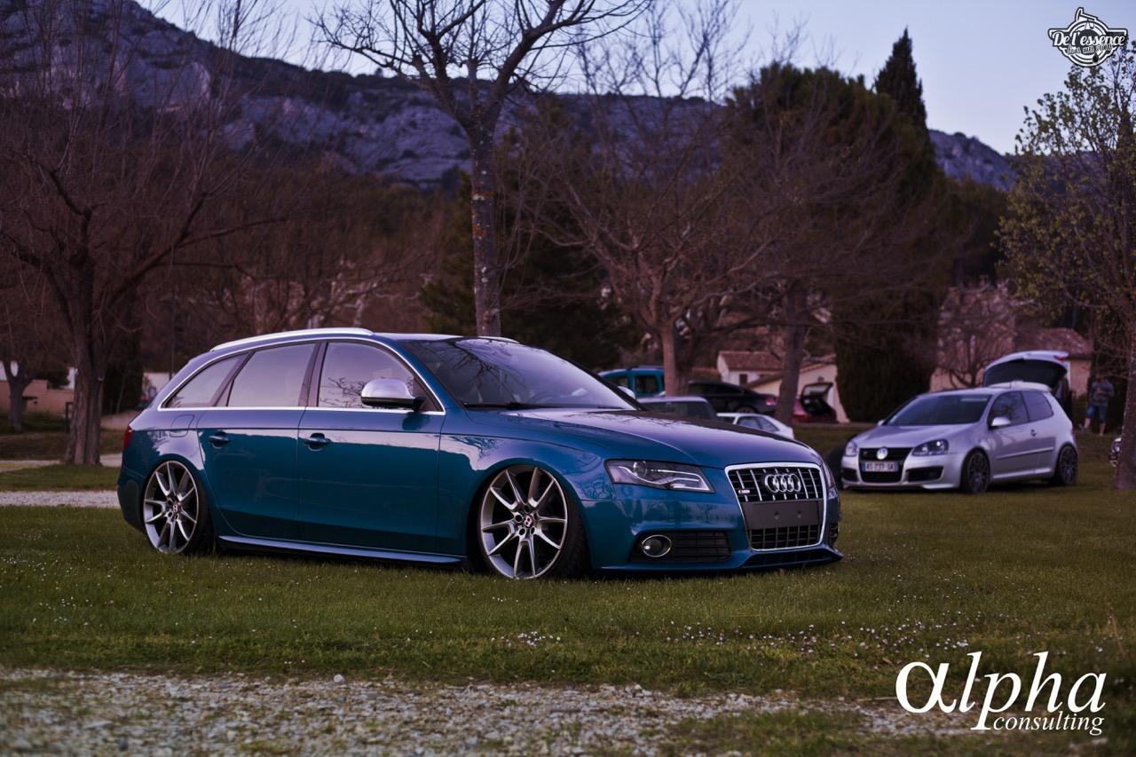 Spring Event #5 : Slammed Audi A4 Avant - D'la Bentley pour Samuel ! 48