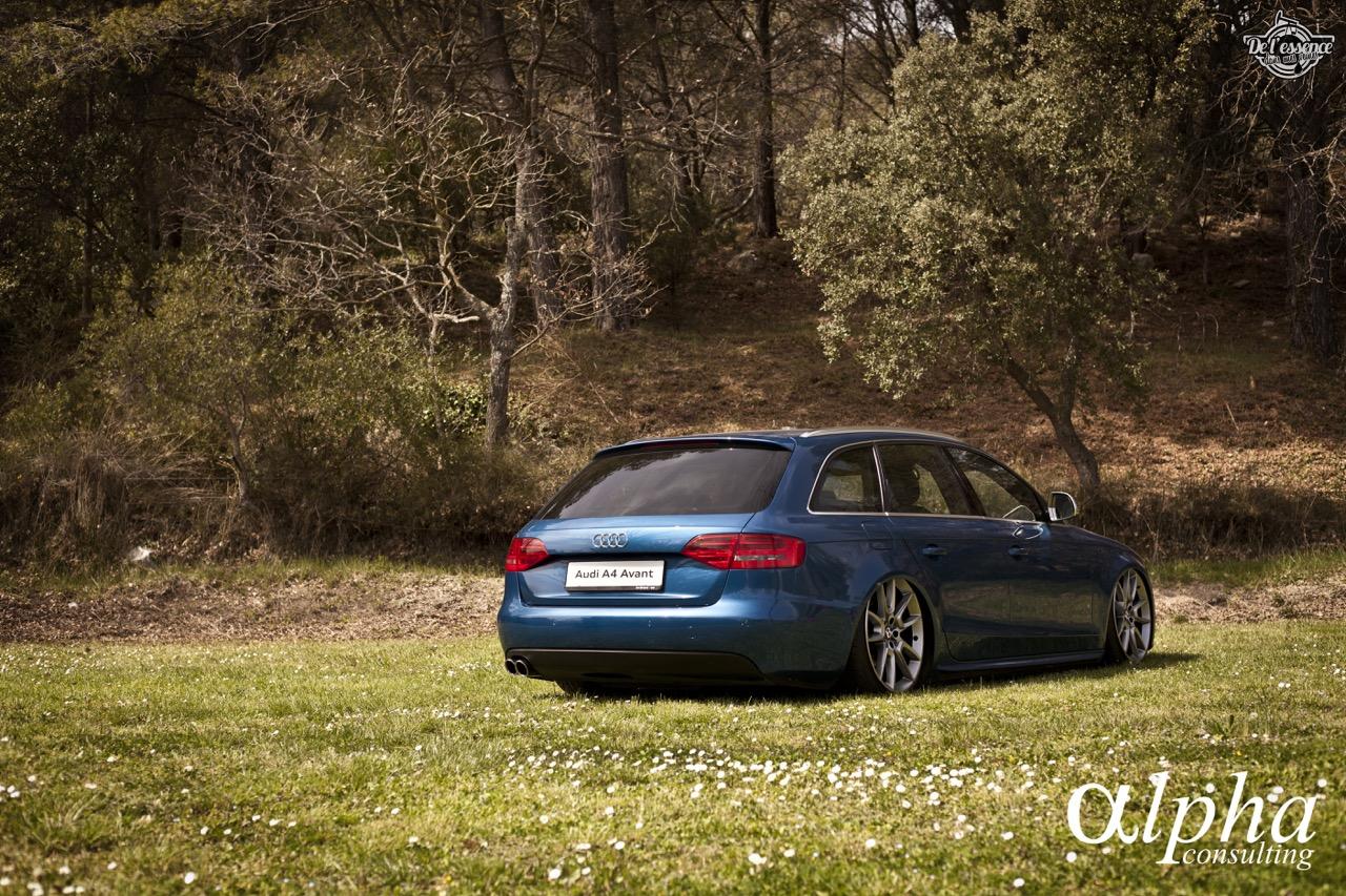 Spring Event #5 : Slammed Audi A4 Avant - D'la Bentley pour Samuel ! 45