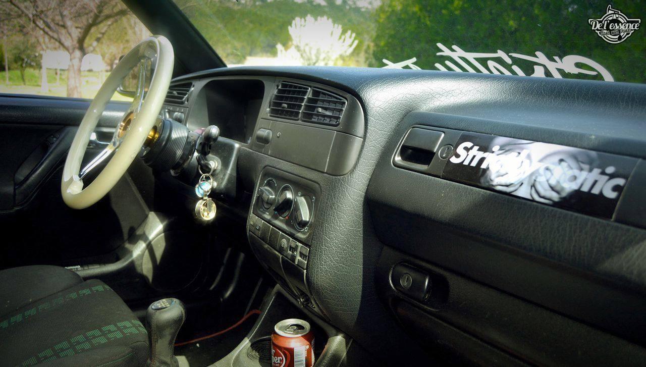 La Golf III de Quentin... Plus c'est simple, plus ça fonctionne ! 30