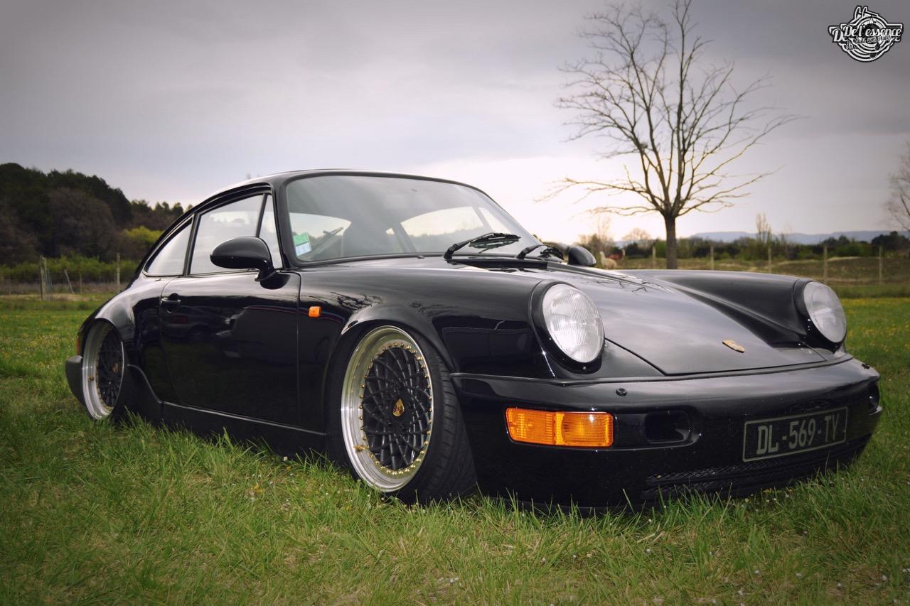 Slammed Porsche 964 C4... Olivier's cruiser ! 56