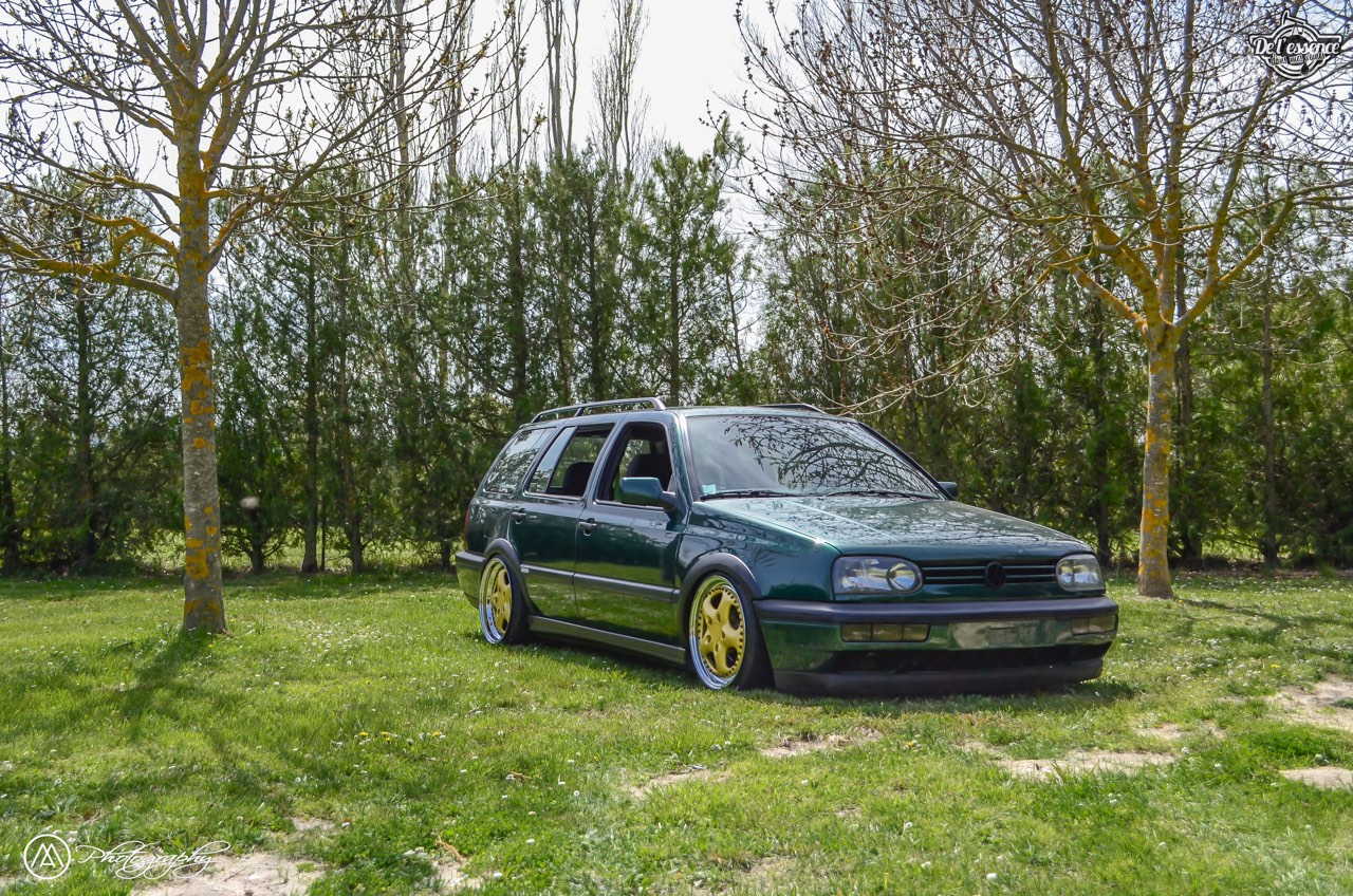 Spring Event #5 : VW Golf III Variant de Thomas - La vie en vert ! 53