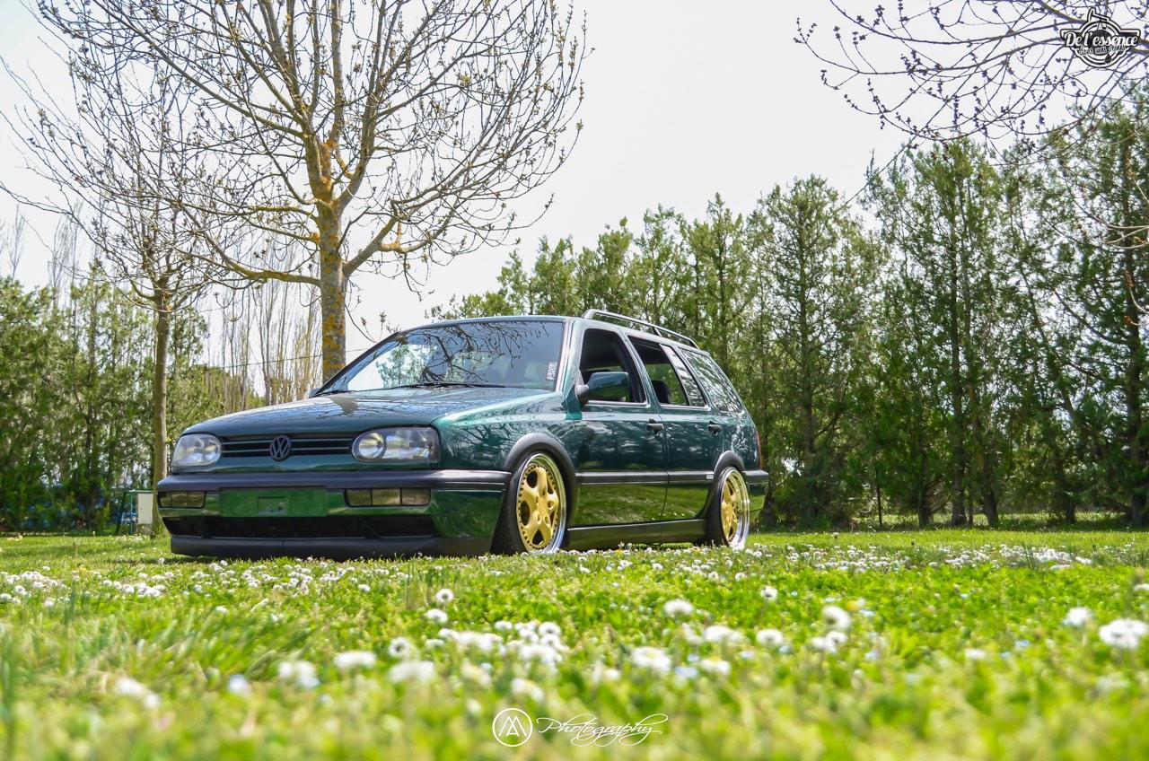 Spring Event #5 : VW Golf III Variant de Thomas - La vie en vert ! 54