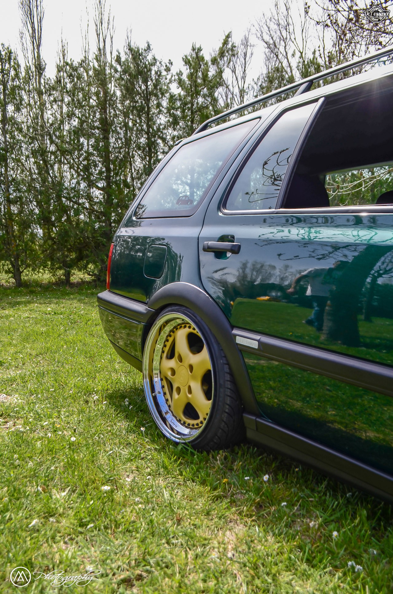Spring Event #5 : VW Golf III Variant de Thomas - La vie en vert ! 55
