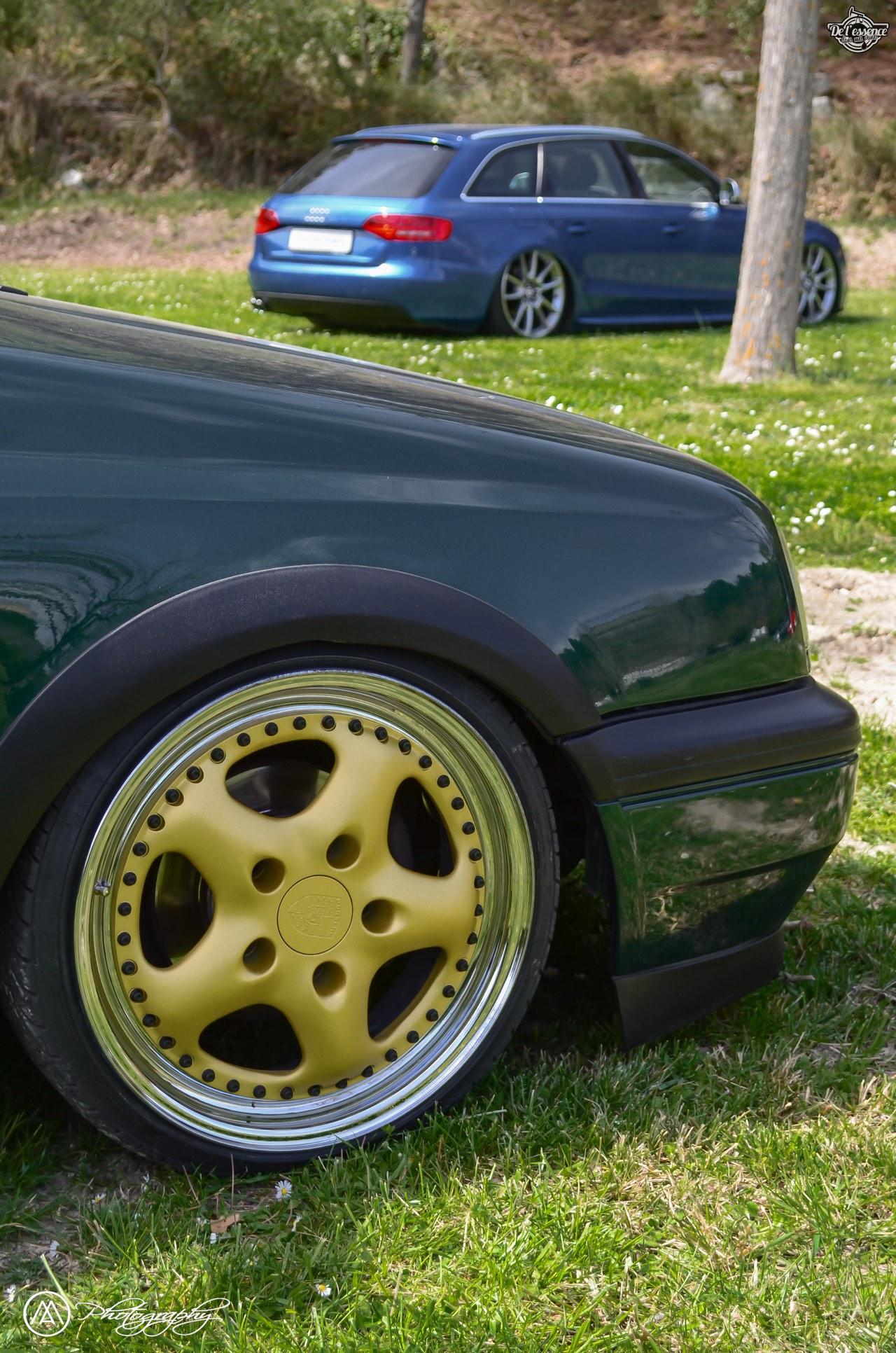 Spring Event #5 : VW Golf III Variant de Thomas - La vie en vert ! 57