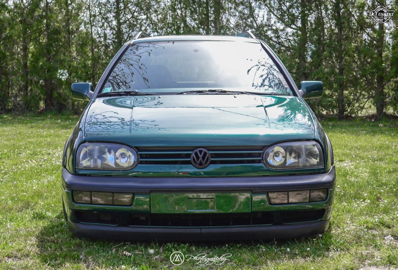 Spring Event #5 : VW Golf III Variant de Thomas - La vie en vert ! 56