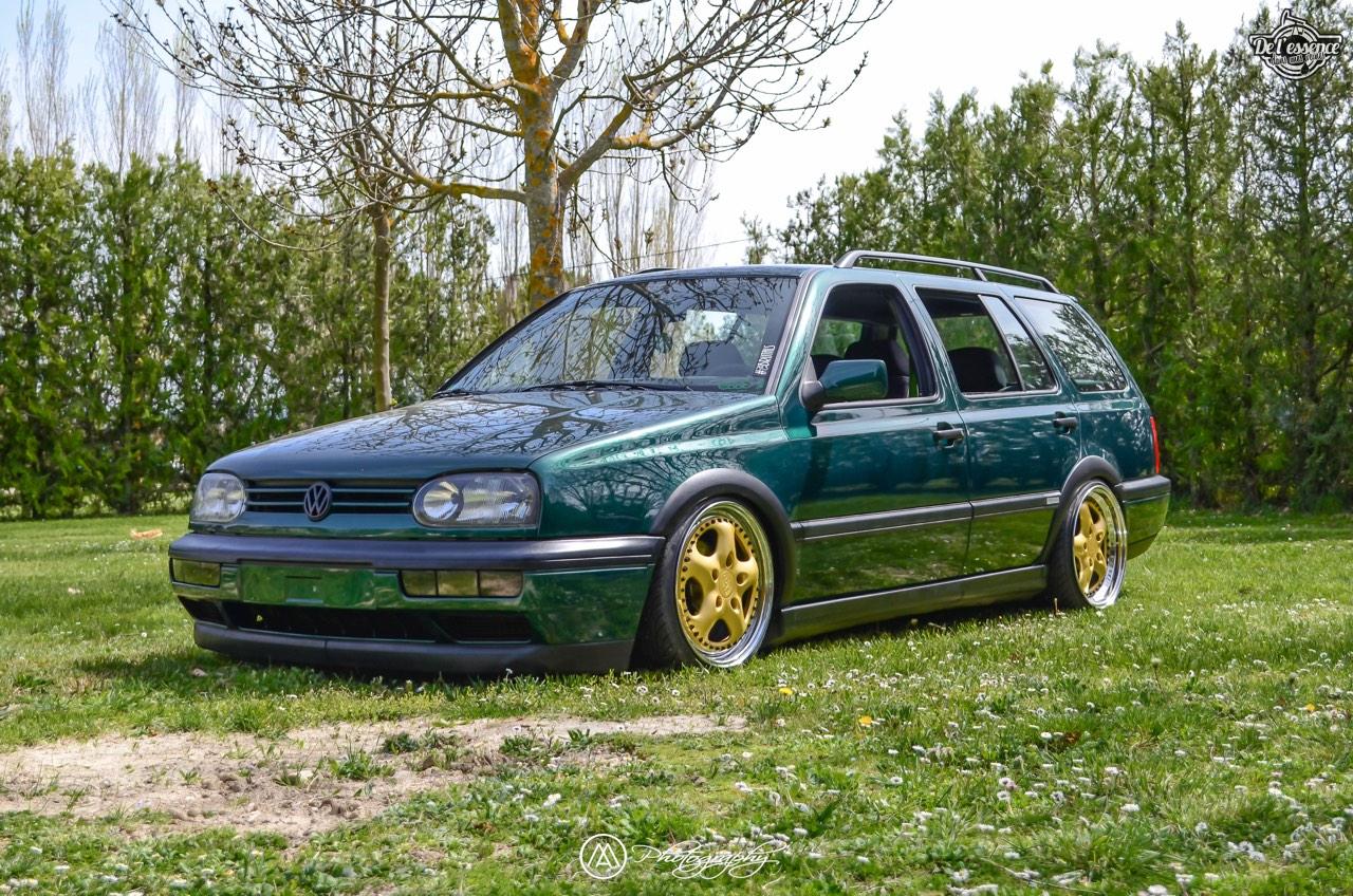 Spring Event #5 : VW Golf III Variant de Thomas - La vie en vert ! 58