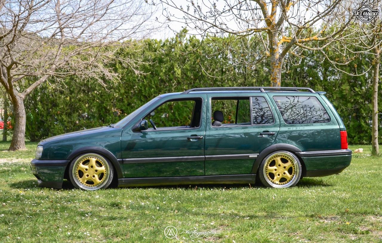 Spring Event #5 : VW Golf III Variant de Thomas - La vie en vert ! 59