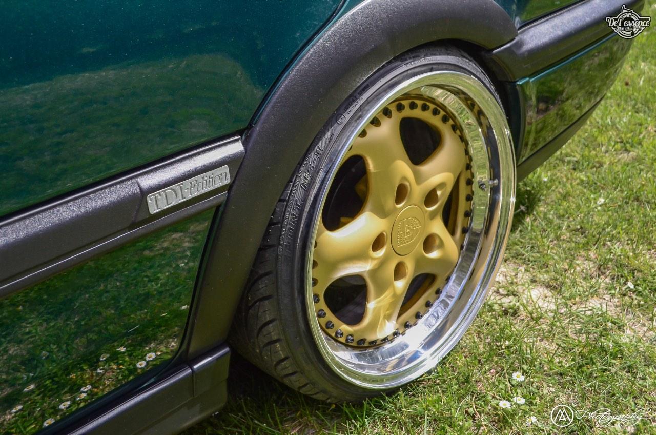 Spring Event #5 : VW Golf III Variant de Thomas - La vie en vert ! 60