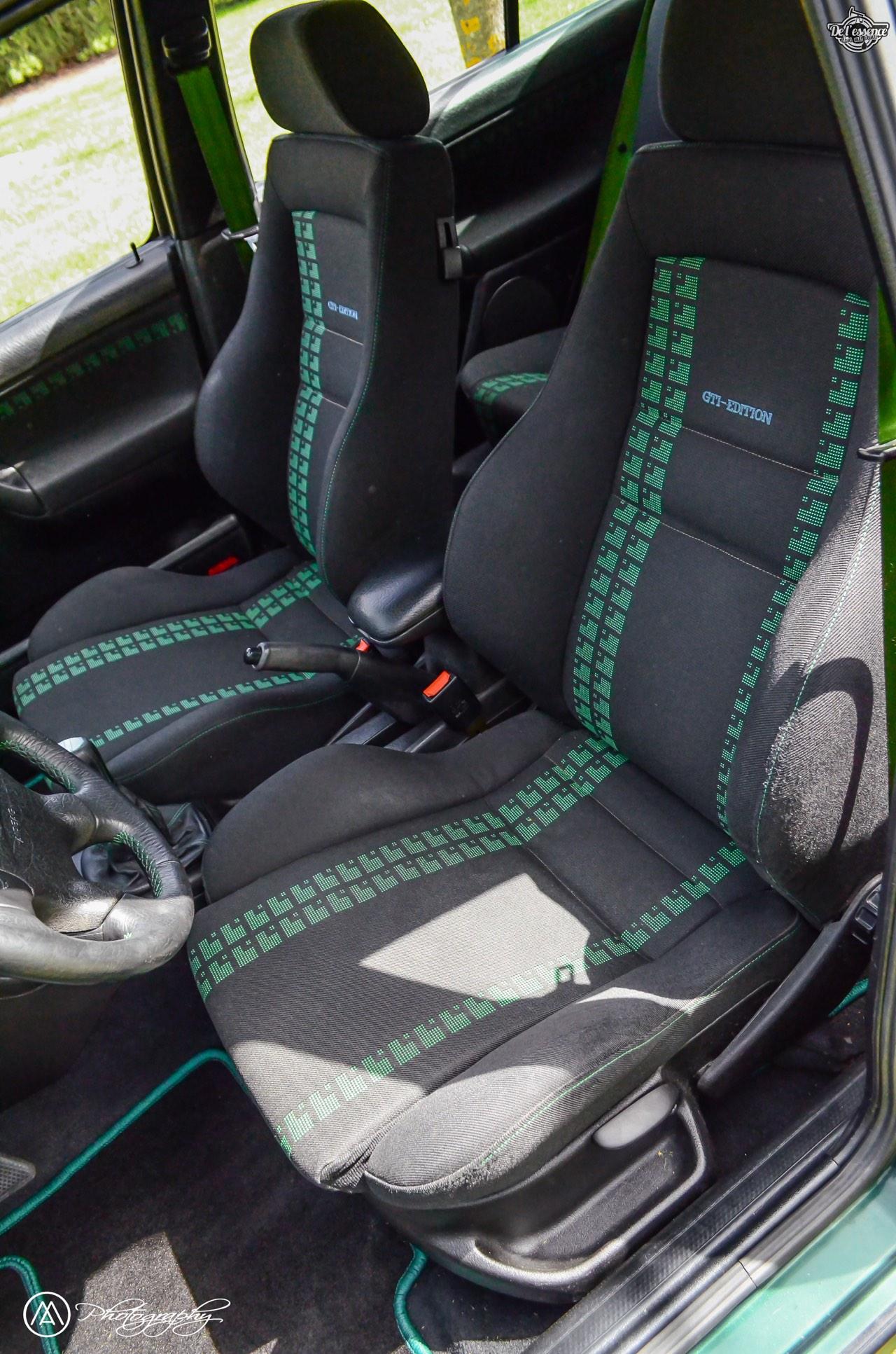 Spring Event #5 : VW Golf III Variant de Thomas - La vie en vert ! 66