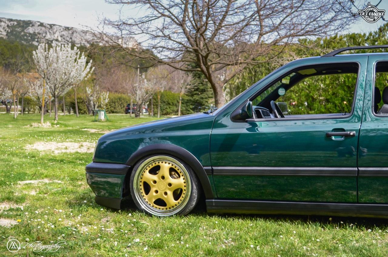Spring Event #5 : VW Golf III Variant de Thomas - La vie en vert ! 63