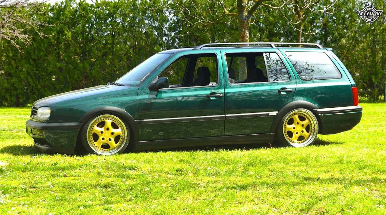 Spring Event #5 : VW Golf III Variant de Thomas - La vie en vert ! 69