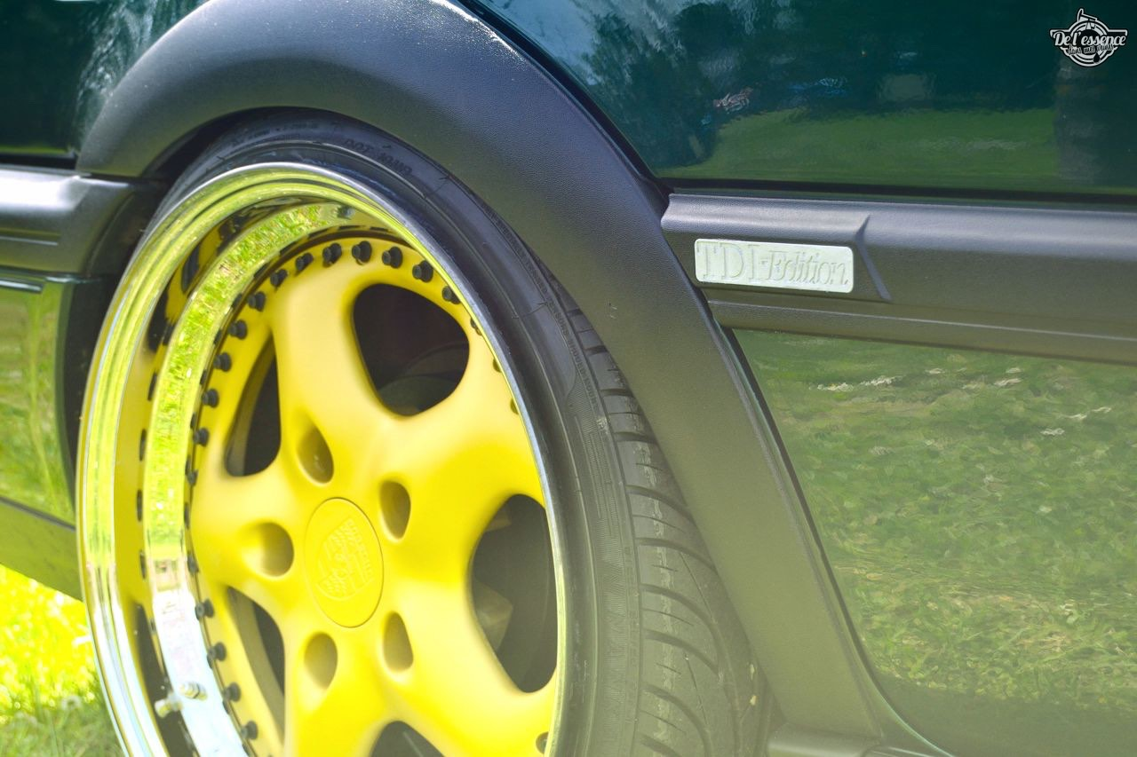 Spring Event #5 : VW Golf III Variant de Thomas - La vie en vert ! 71