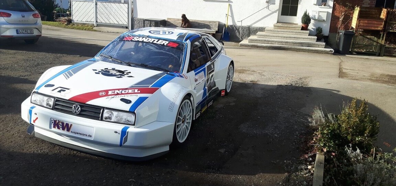 Hillclimb Monster : VW Corrado - Chasseuse de trajo et bouffeuse de chrono ! 2