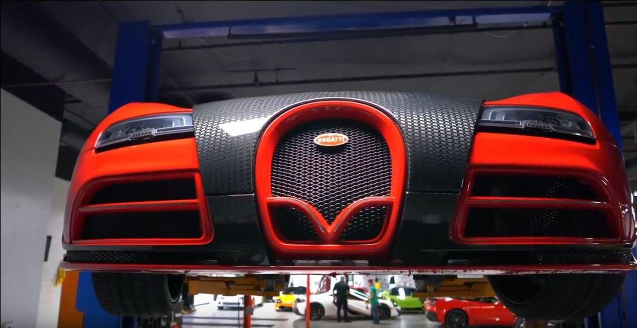 Bugatti Veyron RWD... La burn(e) machine ultime ?! 1