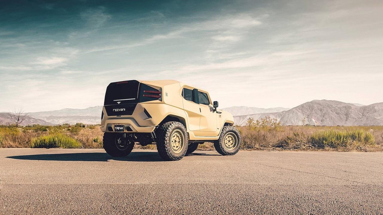 Rezvani Tank - Extreme Sport Utility Military Vehicule... Utile ? 40