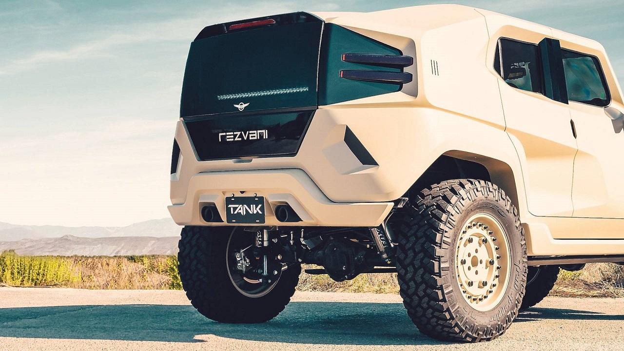 Rezvani Tank - Extreme Sport Utility Military Vehicule... Utile ? 39