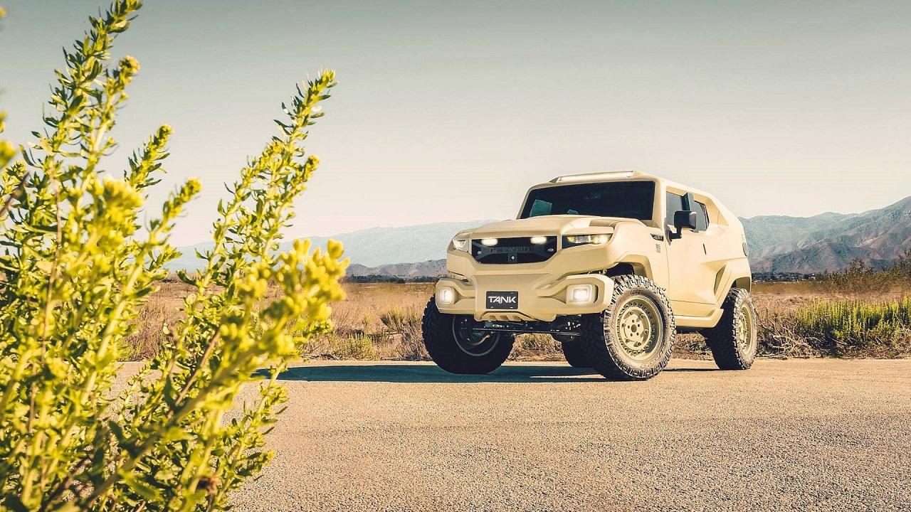 Rezvani Tank - Extreme Sport Utility Military Vehicule... Utile ? 34
