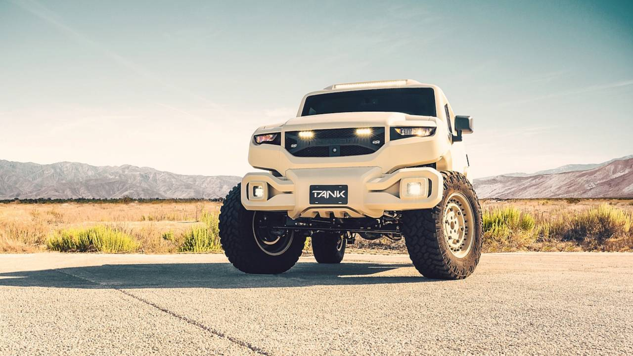 Rezvani Tank - Extreme Sport Utility Military Vehicule... Utile ? 30
