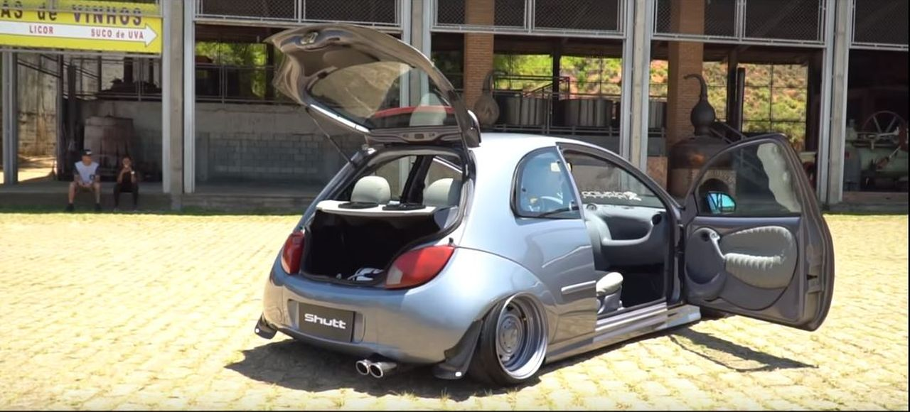 Stanced  Ford Ka - Originale ! 4