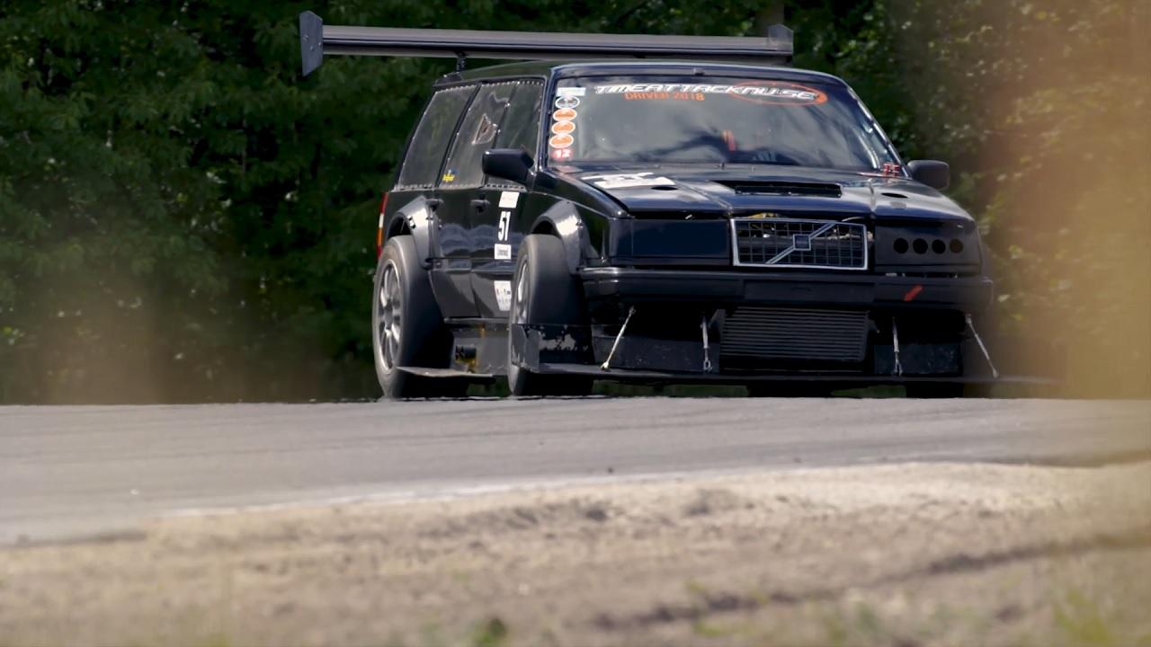 Volvo 940 Time Attack - La Brique Supersonique ! 11