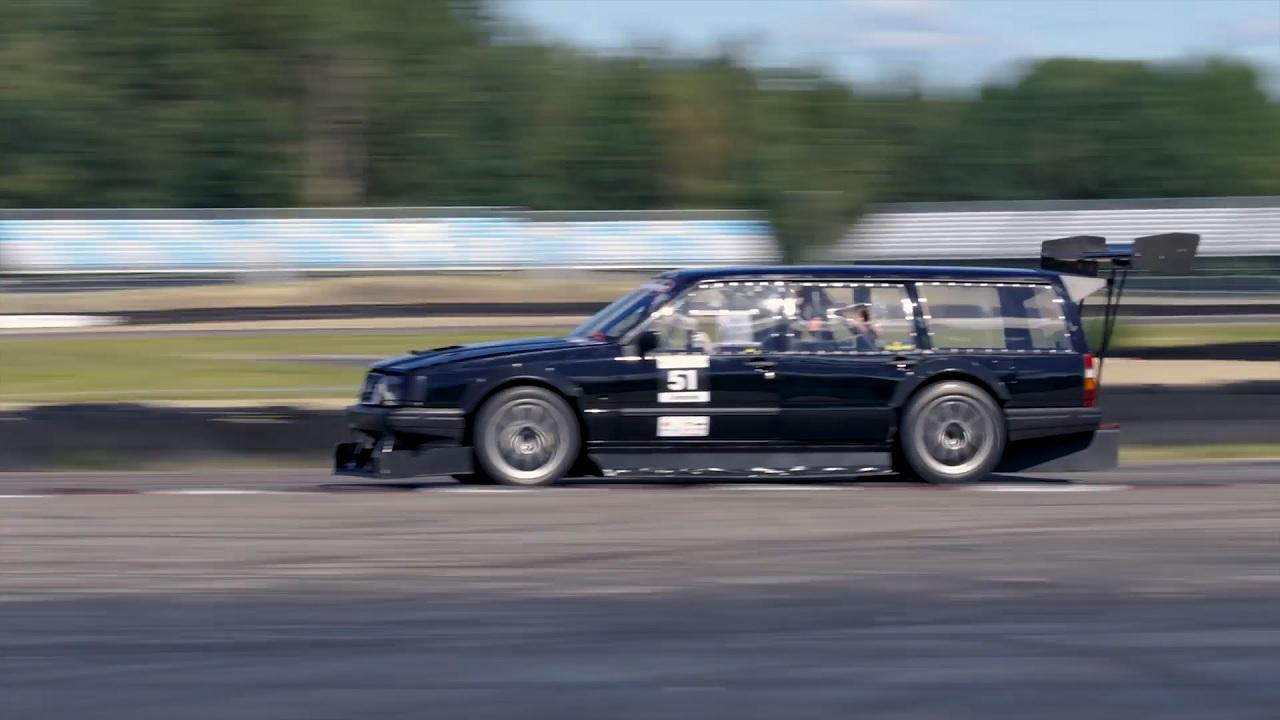 Volvo 940 Time Attack - La Brique Supersonique ! 12