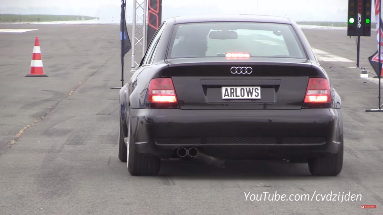 Audi S4 - Ca sert à rien pour rouler à 80 15