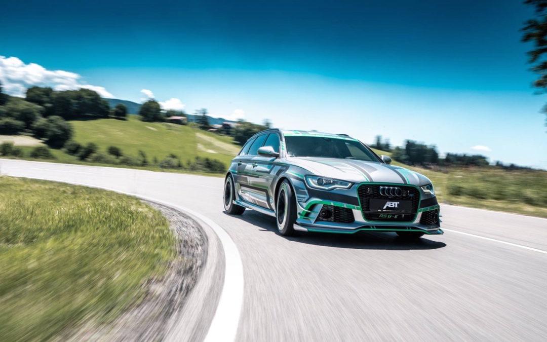 Audi RS6 E Concept ABT Sportsline : Ca veut dire Hybride avec plus de 1000 ch !