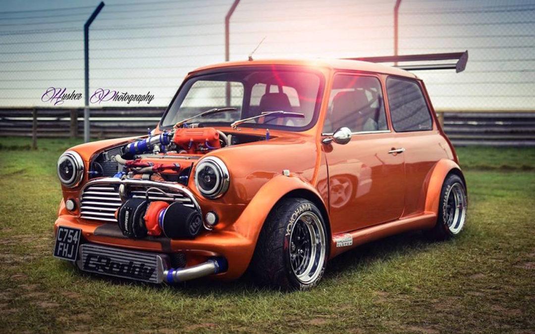 Austin Mini B16 Turbo… Shootée aux hormones !
