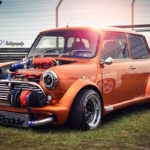Austin Mini B16 Turbo... Shootée aux hormones !