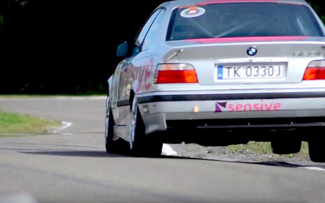 BMW E36 en rallye… A la limite !