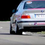 BMW E36 en rallye... A la limite !